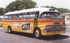Old bus at Malta's islands