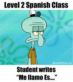 Spanish teacher Problems