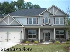 Beautiful home by Lake Carolina Homes in St. James Park