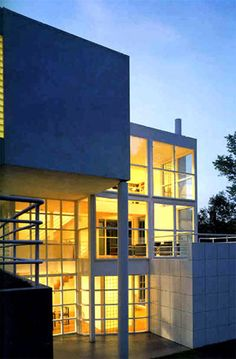 Giovannitti House, Pittsburgh, Pennsylvania by Richard Meier :: 1979 - 1983