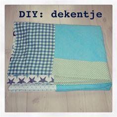 DIY - dekentje of sprei maken voor je kind, baby of peuter. Blanket or coverlet for child, baby and toddler. kids. #leukmetkids