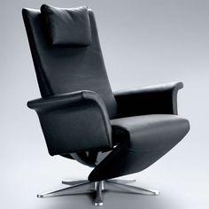 moderner relaxsessel leder creme hand oder motorbedienung bei m bel morschett. Black Bedroom Furniture Sets. Home Design Ideas