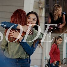 """After Ashley Marin is denied bail, Hanna seeks Mona's help in plotting her biggest lie ever: a false confession to murdering Detective Wilden. And Emily tries everything to get a college scholarship.  #PLLMemoryLane  79 of 150 // Season 4, Episode 8: """"The Guilty Girl's Handbook."""" #PLL #PrettyLittleLiars"""