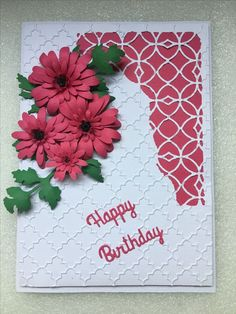 How to Make Awesome Birthday Cards for Mom She'll Love! Diy Birthday Cards For Mom, Homemade Birthday Cards, Homemade Cards, 3d Cards, Stampin Up Cards, Spellbinders Cards, Card Making Techniques, Pretty Cards, Card Sketches