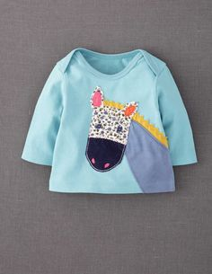 bought it: Animal Appliqué T-shirt #miniboden