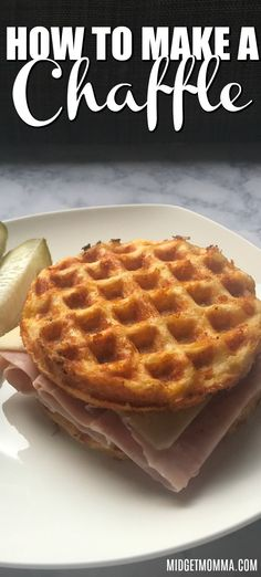 Nice Nice: How to Make a Chaffle If you are looking for the BEST Easy Keto Chaffle Recipe this is it! SUPER Easy Chaffle Recipe that is perfect for making low carb bread! Keto Bread Coconut Flour, Keto Banana Bread, Almond Flour Recipes, Sugar Bread, Almond Meal, Blueberry Bread, Almond Butter, Coconut Oil, No Bread Diet