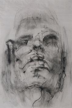 Self-Portrait Series by Yuna Cho, via Behance