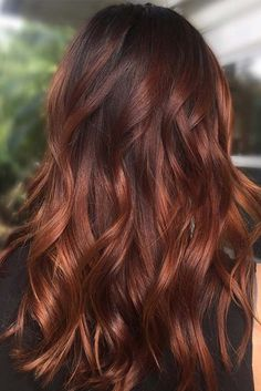 brown with cherry gold highlights