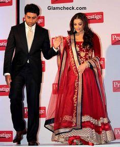 Abhishek and Aishwarya Rai Bachchan Display Obvious Chemistry at Prestige Event
