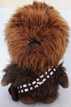 "Star Wars Chewbacca Chewy Chewie Large Plush Talking Stuffed Animal 24"" Toy #UndergroundToys"