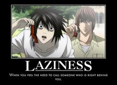 Laziness- Death Note by Clive4everLegal.deviantart.com on @deviantART
