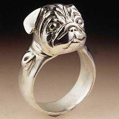 Pug Ring.  I love it
