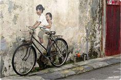 Penang Street Art - Bicycle