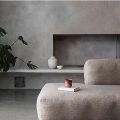 Lumière douce par @normarchitects  #interior #inspiration #decoration #wood #concrete #colors #furniture #design #shapes #style
