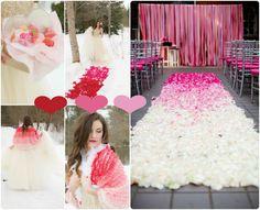 Hochzeitsdekoration pink Ideen 2013