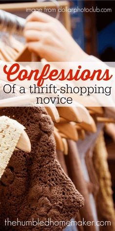 Confessions of a Thrift-Shopping Novice