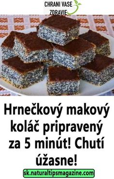 Delicious Desserts, Dessert Recipes, Yummy Food, Czech Recipes, Oreo Cupcakes, Sweet Tooth, Deserts, Food And Drink, Sweets