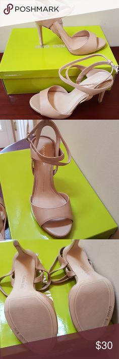 NWT Nude 8 Gianni Binni High Heeled Sandals NWT nude size 8 Gianni Bini high heeled sandals. Never worn. Have box. Have in black and they are extremely comfortable. Gianni Bini Shoes Sandals