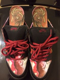 8e3cddc7d9 Nike Dunk Low Pro SB Pushead Metallica Art