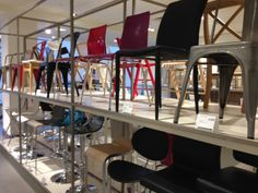 An overdose of chairs at John Lewis.