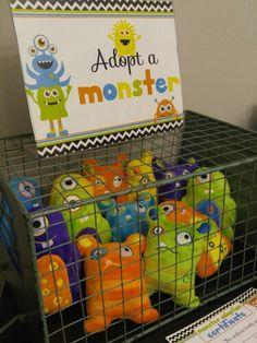 Adopt A Monster station Fund raiser sales Little Monster Birthday, Monster 1st Birthdays, Twins 1st Birthdays, Monster Birthday Parties, 2nd Birthday Parties, Little Monster Party, Monster Inc Party, Monster Mash, Boys First Birthday Party Ideas