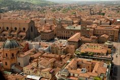 Bologna, Italy-- I've been here :) but I wanna go back..