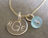 Gold Initial Necklace  Save with coupon code: PINTEREST