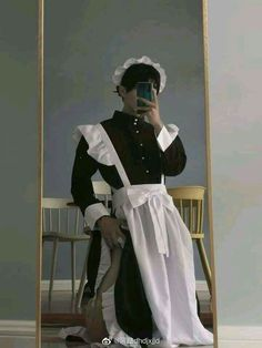 Maid Outfit, Maid Dress, Foto Fantasy, Daddy Aesthetic, Style Grunge, Jolie Photo, Pose Reference, Cute Guys, Alter