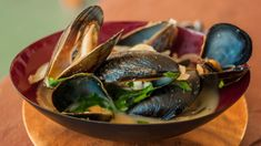 Curry Beer Mussels