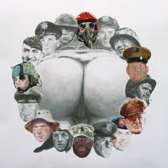 War & Piece of Ass - Eric Yahnker