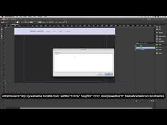 How To Add A Tumblr Blog to Your Adobe Muse Site - YouTube
