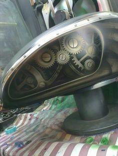 Gas tank steampunk style