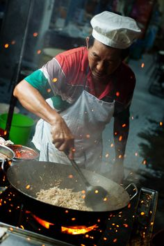 Georgetown, Penang, Malaysia *love* Char Koay Teow (Fried Rice Noodle)