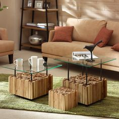INK+IVY Benson Coffee Table