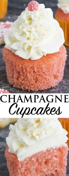 CHAMPAGNE CUPCAKES admin | March 2, 2017 | RECIPES | No Comments CHAMPAGNE CUPCAKES ? THESE EASY PINK CHAMPAGNE CUPCAKES WITH CHAMPAGNE BUTTERCREAM FROSTING ARE SOFT...
