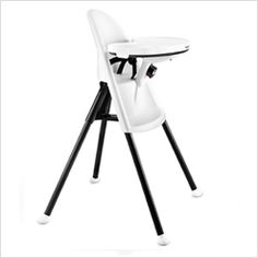 The @BabyBjörn US high chair - one of our favorite baby products at 11 months!
