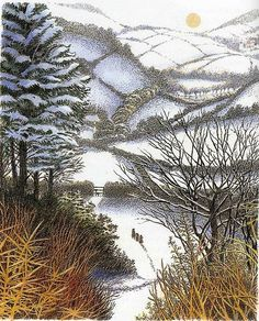 "​​Kenneth Grahame, ""The Wind in the Willows"".  Illustrated by Inga Moore."