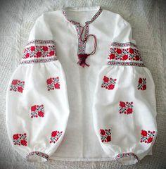 blusa bordado ucraniano vyshyvanka camisa étnica por UkrNational