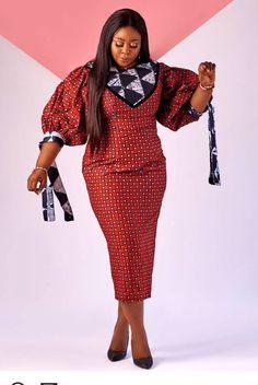 Latest African Fashion Dresses, African Print Dresses, African Dress, Women's Fashion Dresses, Ankara Skirt And Blouse, Ankara Dress, Peplum Dress, African Wear Styles For Men, Ankara Styles For Women