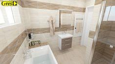 Tiles, Bathtub, Bathroom, Brown, Design, Inspiration, Room Tiles, Standing Bath, Washroom