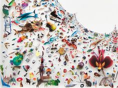 Peter Madden's Collages Suspended in Plexiglas