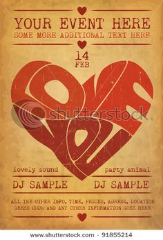 free flyer valentine's day