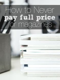 Get magazines, organization ideas and more on this site. I LOVE getting magazines for as low as $4 per year! http://couponcravings.com/magazines/
