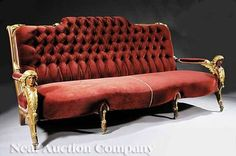 Sofa attributed to the Herter Brothers