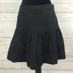 "J Crew plated skirt J Crew plated skirt  Sz 4  long 17"" 100% cotton like new NO HOLDS, NO TRADES J. Crew Skirts"