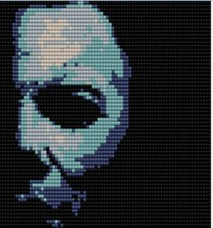 Michael Myers Perler Bead Pattern by TheRealKandiKidPLUR.deviantart.com on @deviantART