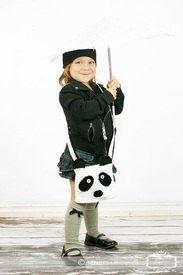 Crochet Panda Purse Tote Bag by GoodKarmaCrochet on Etsy, $24.00