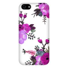 Painted Floral Phone Case from Plum Street Prints
