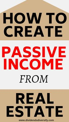 REIT Investing For Passive Income Do you need investment ideas? Then learn about investing money in real estate for passive income. It's easy and you don't necessarily have Investment Tips, Investment Portfolio, Investment Books, Investing Money, Real Estate Investing, Dividend Investing, Creating Passive Income, Financial Peace, Finance Tips