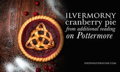 Ilvermorny Cranberry Pie (Inspired by Pottermore) | Food in Literature